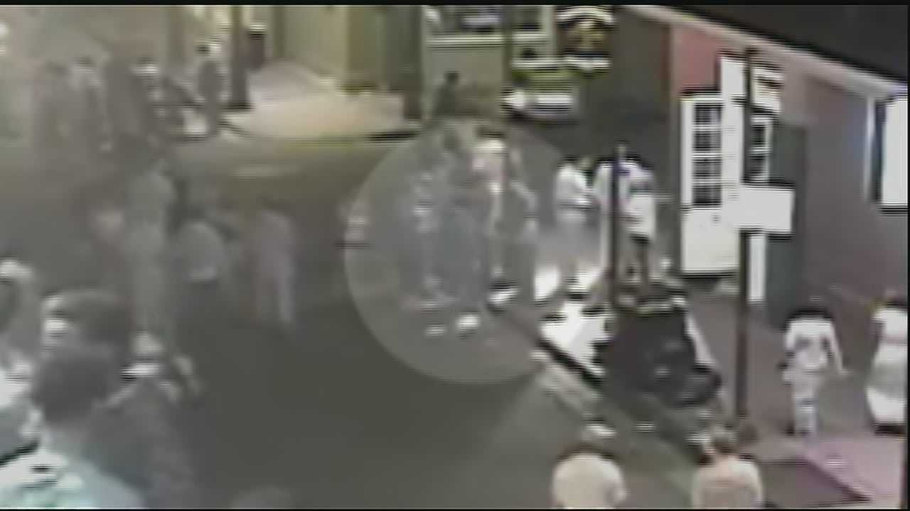 The video shows pivotal moments that could help detectives in the case.