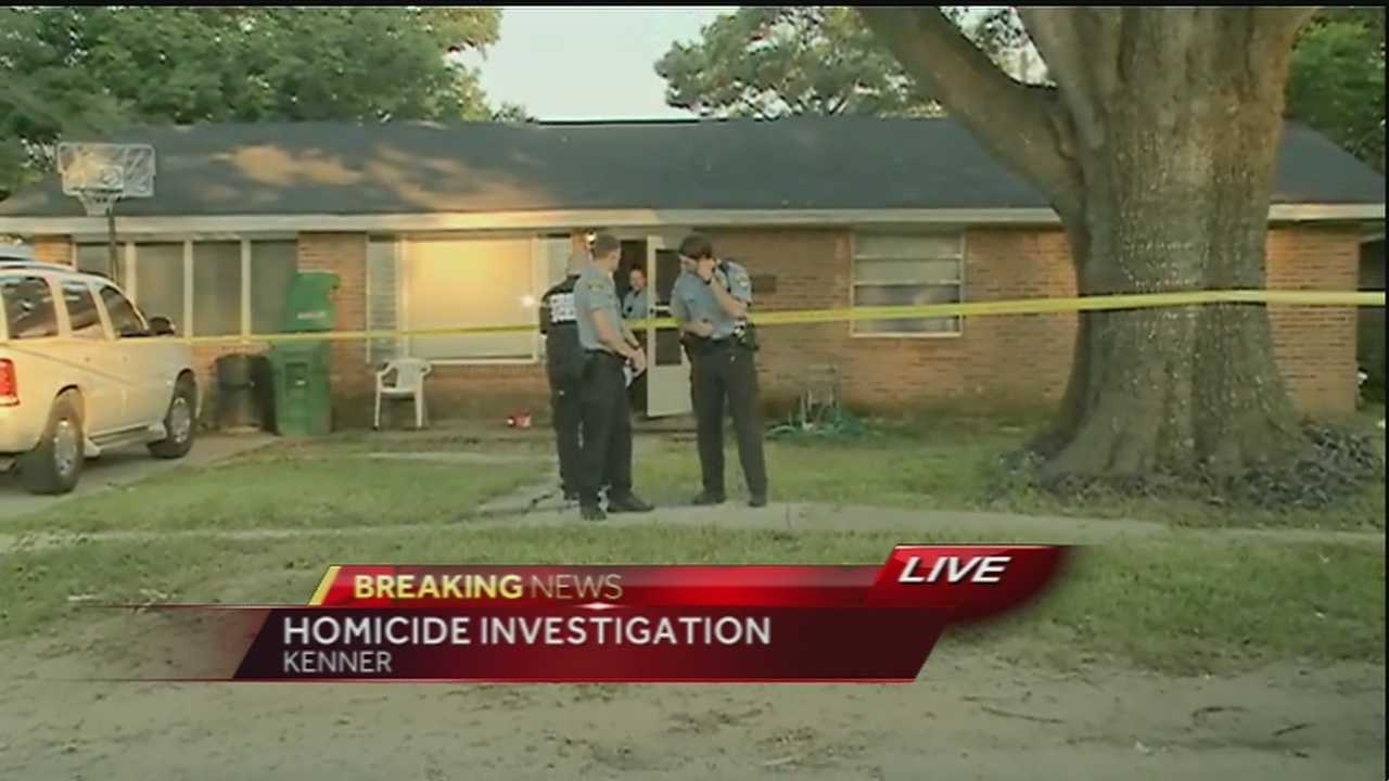 Kenner police are investigating a homicide