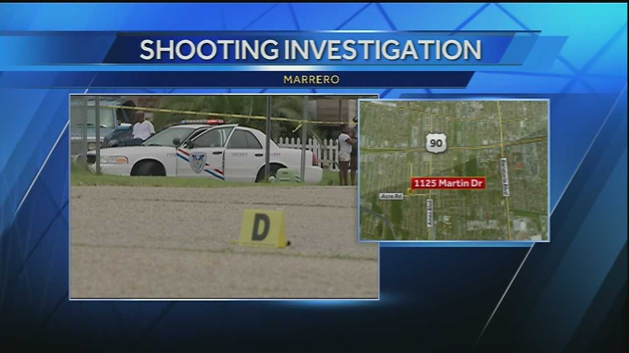 A 16-year-old boy was injured in a shooting in Marrero on Tuesday afternoon.