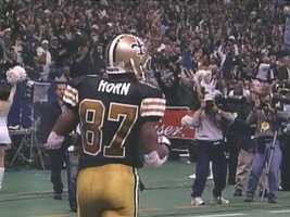 2005:Joe Horn6 years, $42 million.  Horn becomes one of the top 5 highest paid wide receivers in the NFL.
