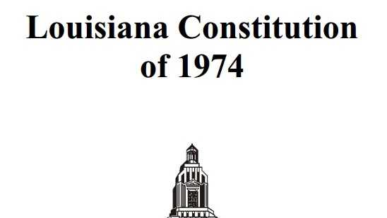 Louisiana constitution