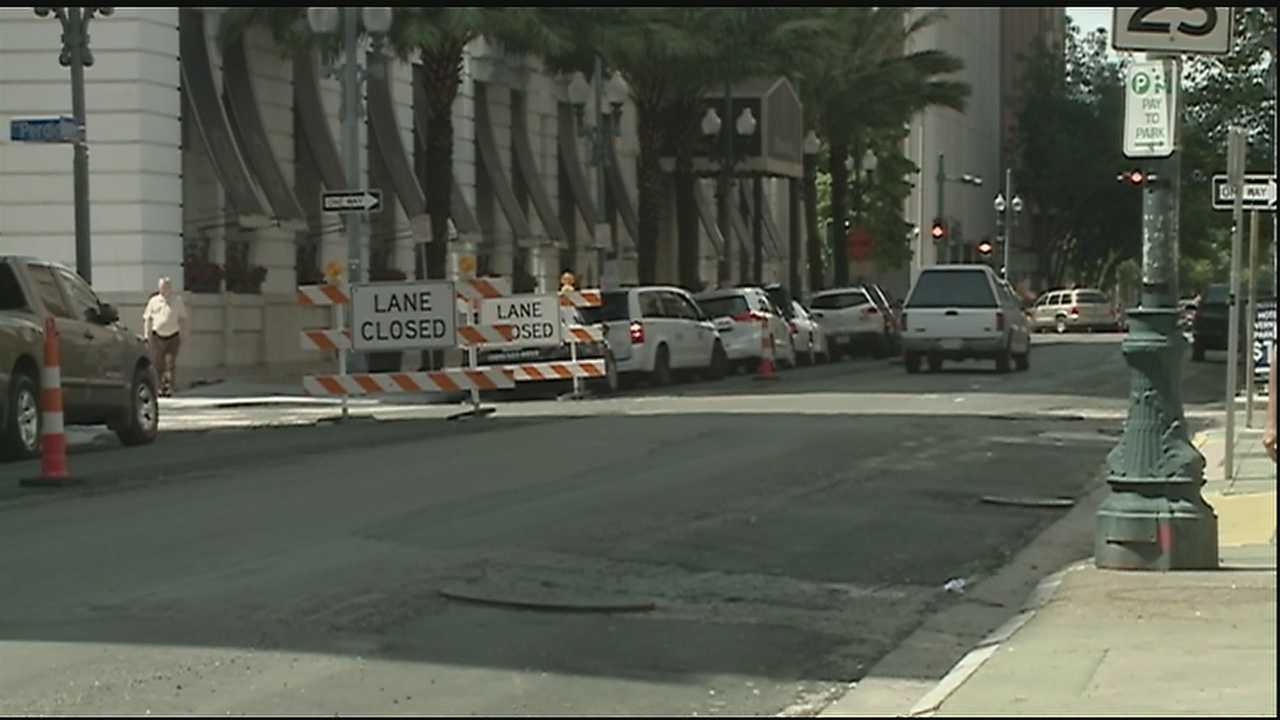 Paths to Progress downtown roadwork behind schedule