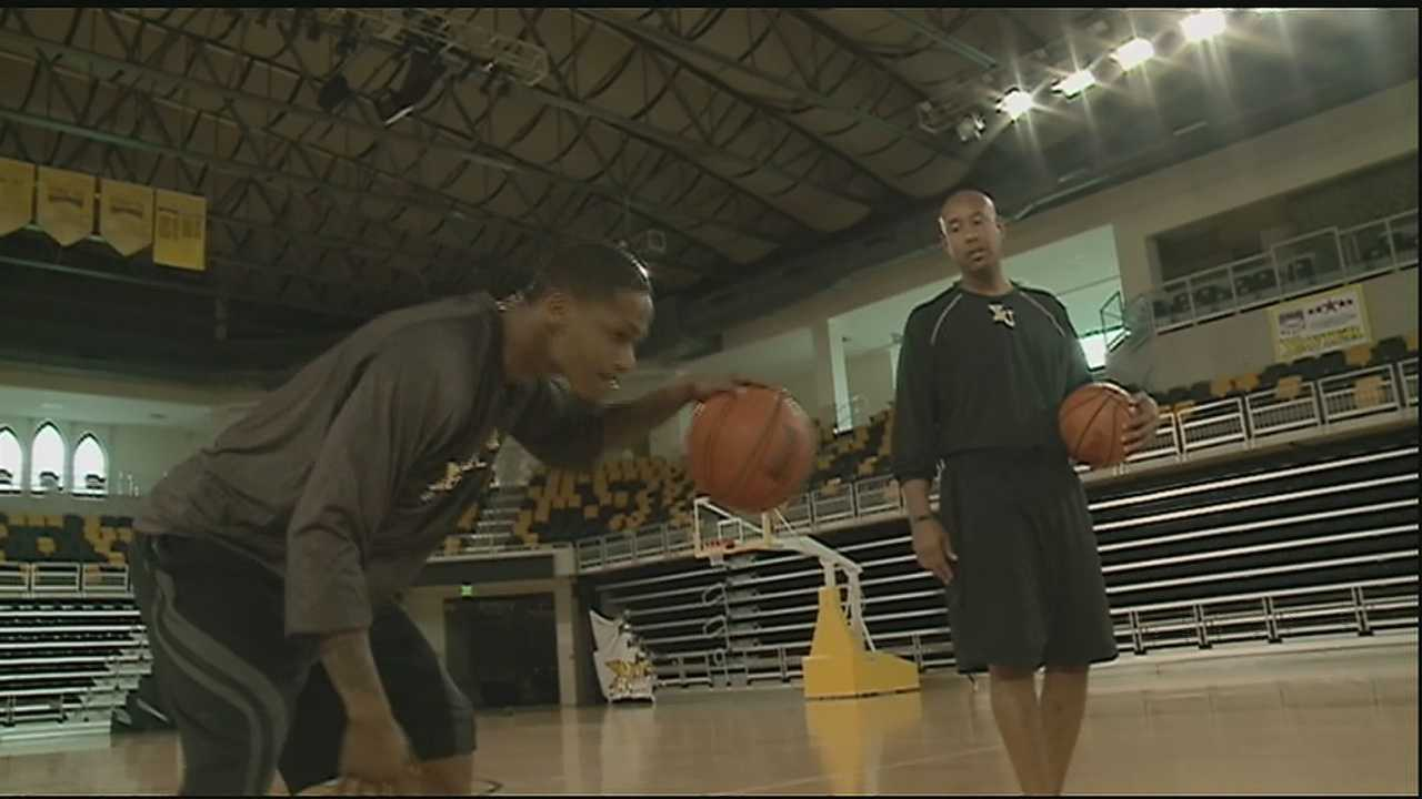 A 25 year old military veteran gets a chance to live his dream of playing college basketball.