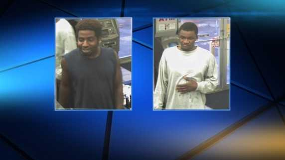 Two men are being sought by investigators in Jefferson Parish in connection with two vehicle burglaries in Terrytown.