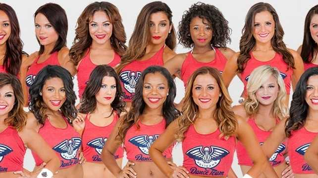 2014-15 Pelicans Dance Team