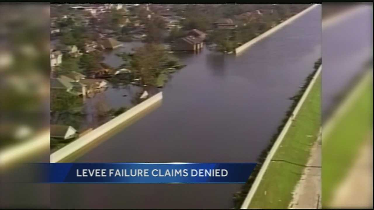Army Corps of Engineers deny over 500,000 claims from Katrina and Rita