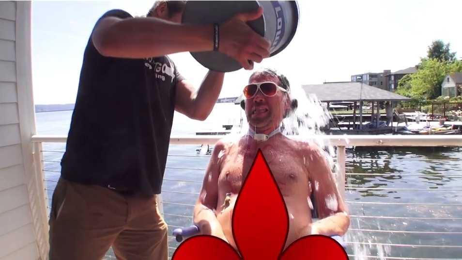 Gleason ice bucket challenge.jpg