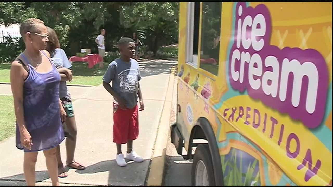 Ice cream expedition promotes conservation