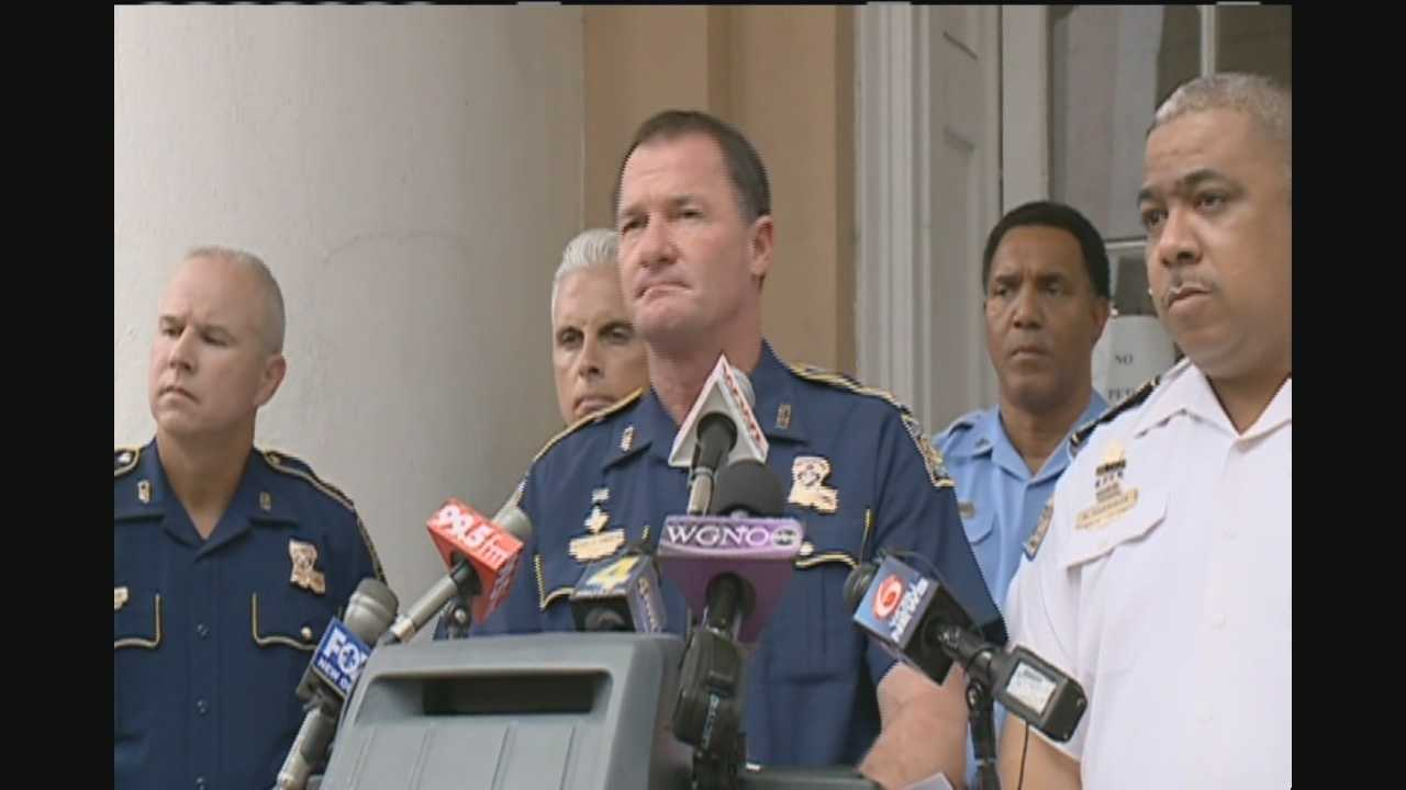 State Police Superintendent Col. Mike Edmonson held a news conference Thursday afternoon where he announced that troopers will remain in New Orleans after Labor Day.