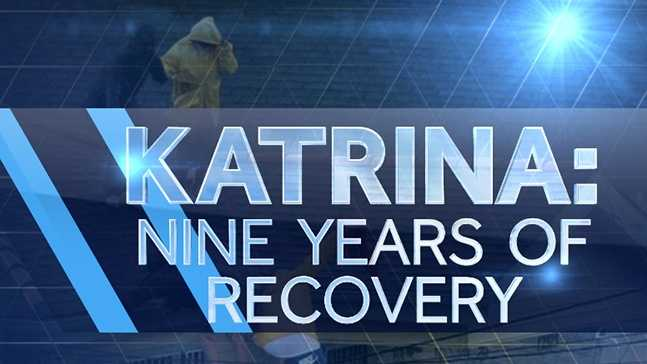Residents protest lack of recovery from Hurricane Katrina