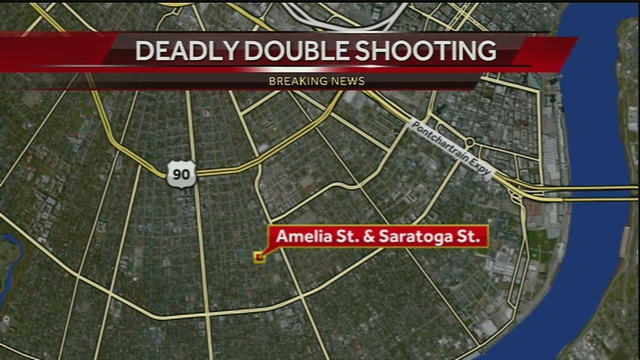 Milan double shooting map