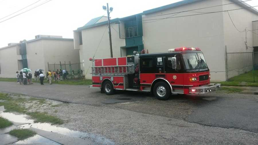 Crews with the New Orleans Fire Department were sent to the 800 block of De Armas Street. This is happening at the McDonogh #32 Literacy Charter School.