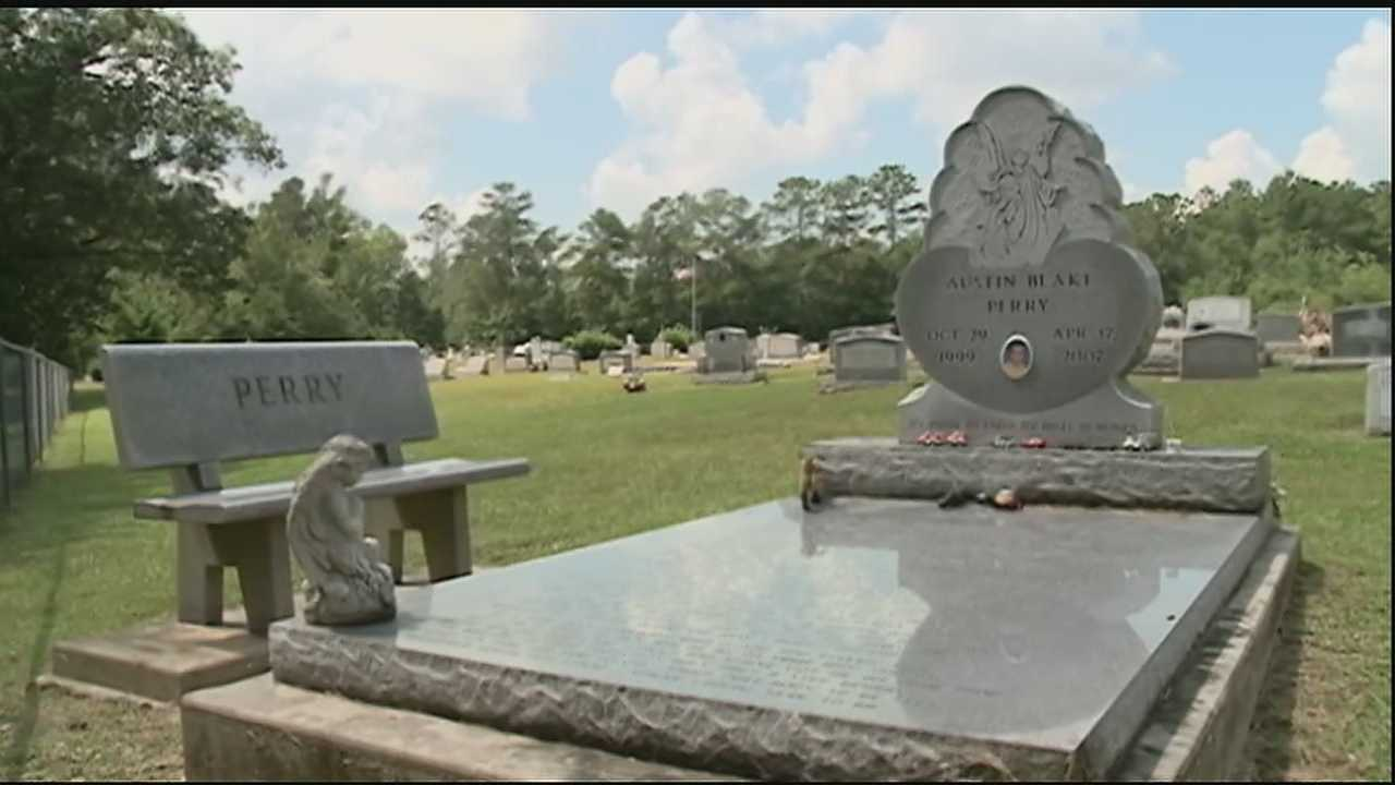 Saturday, residents discovered that a local cemetery was vandalized and items were stolen from grave sites.