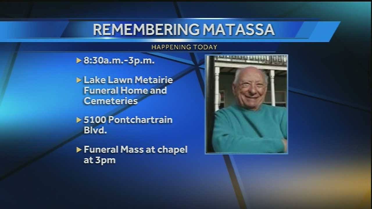 The New Orleans community will remember Cosimo Matassa Tuesday, a man who made his reputation for the New Orleans' sound behind the studio glass.