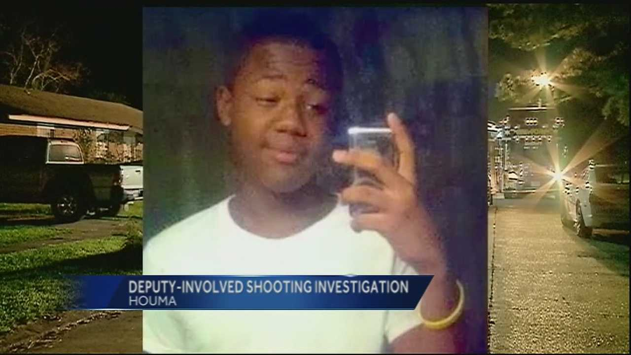 A Terrebonne Parish sheriff's deputy shot and killed a teenager while on a call Tuesday evening.