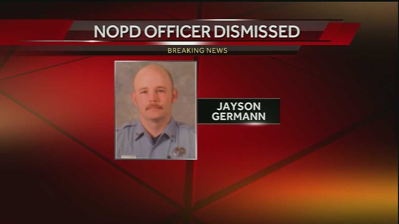 The New Orleans Police Department fired a 15-year veteran of the force on Wednesday after investigators said the officer committed payroll fraud, violating the department's paid detail policy.