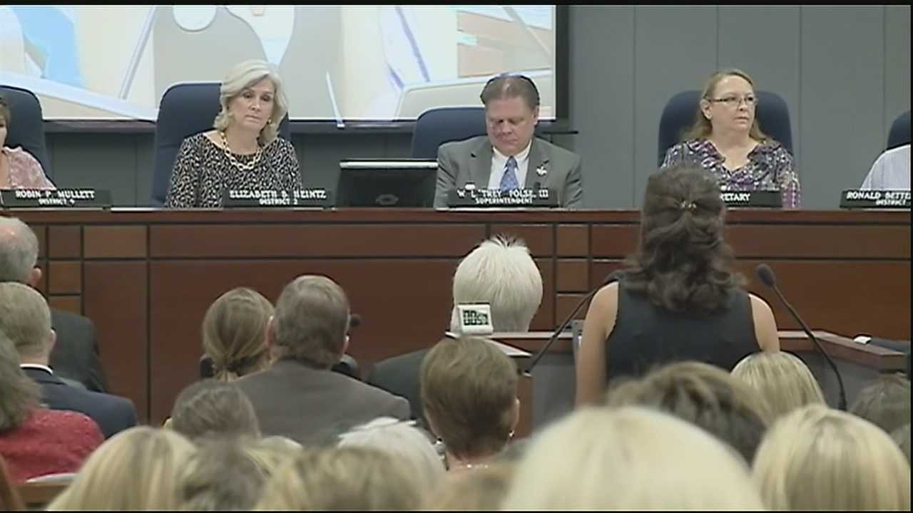Parents in St. Tammany Parish voice their concerns over Common Core.