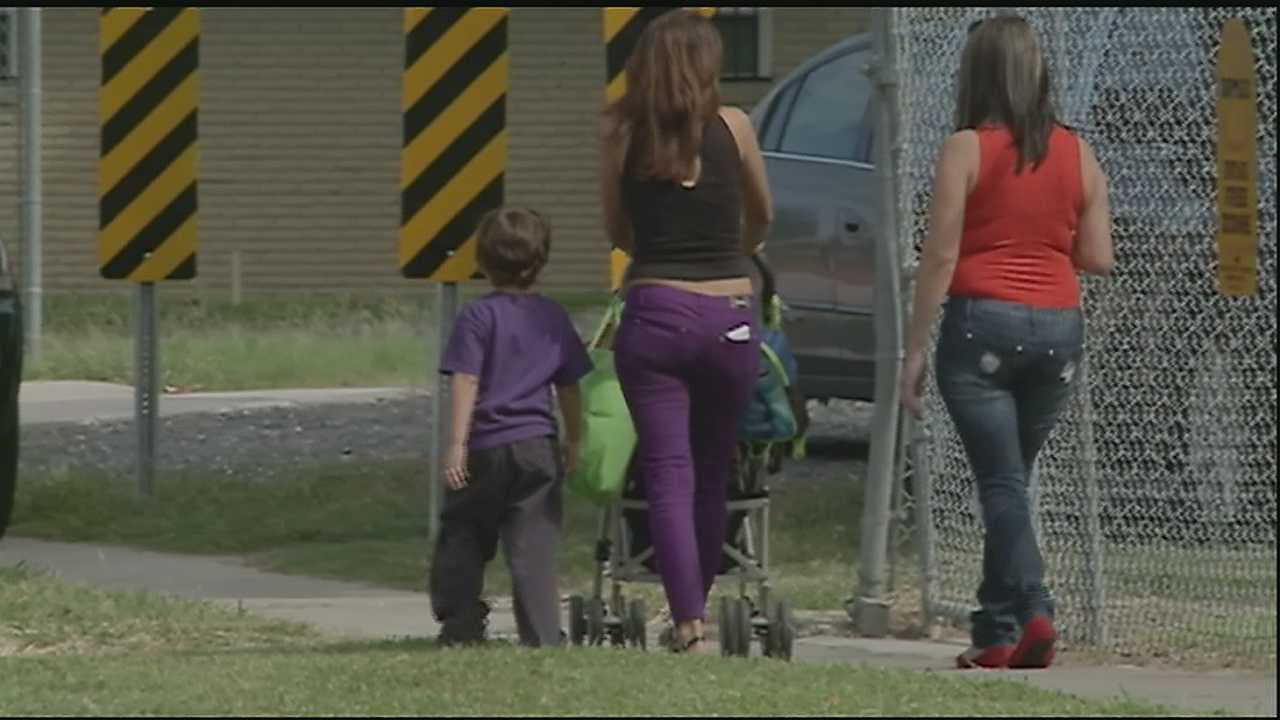 Casey Ferrand reports on some scary moments at a Marrero school after a natural gas leak