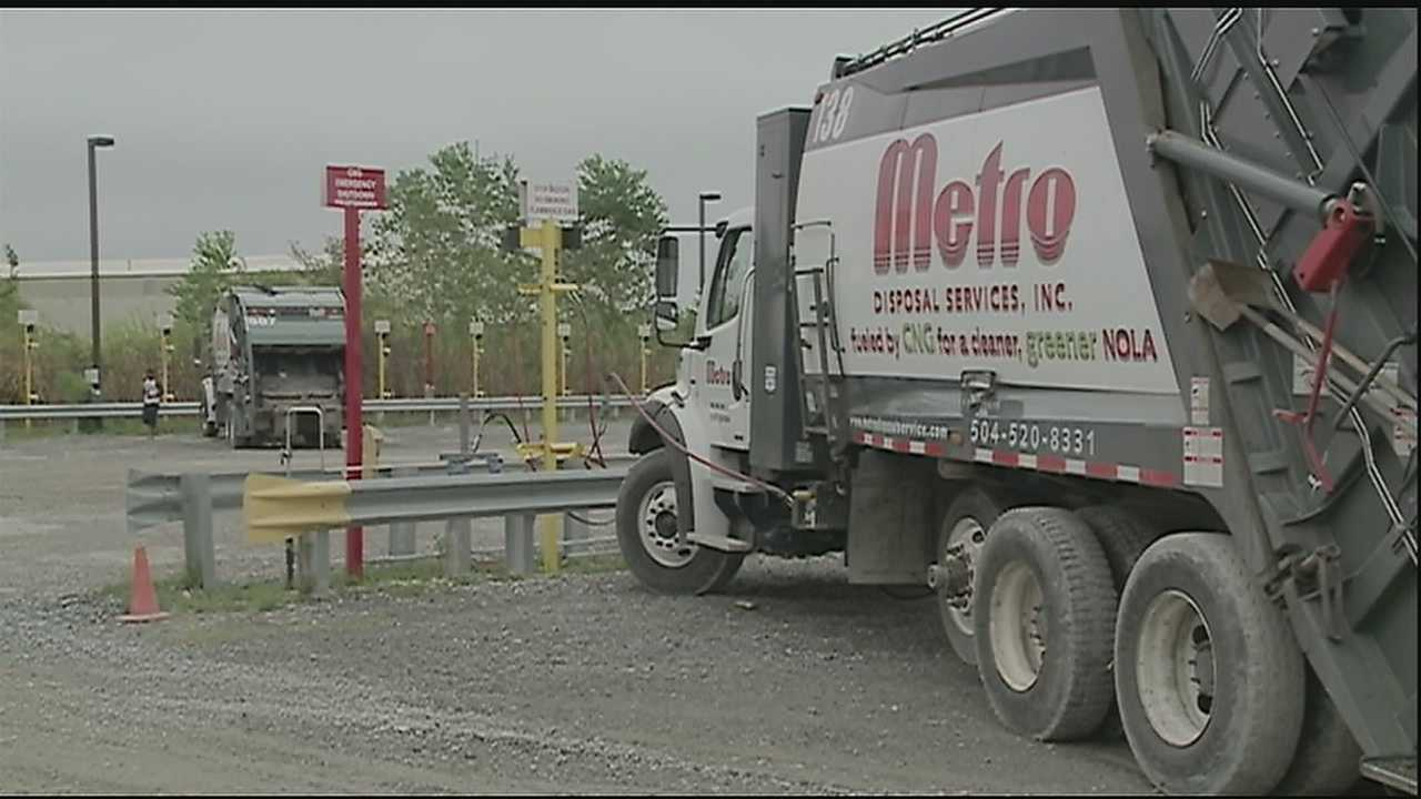 Disposal company introduces fueling station to lower costs
