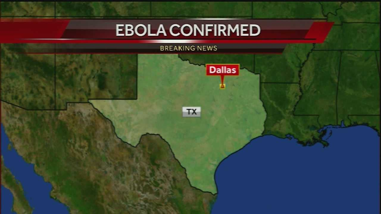 Patient at Dallas hospital being monitored after showing symptoms and recent travel history.