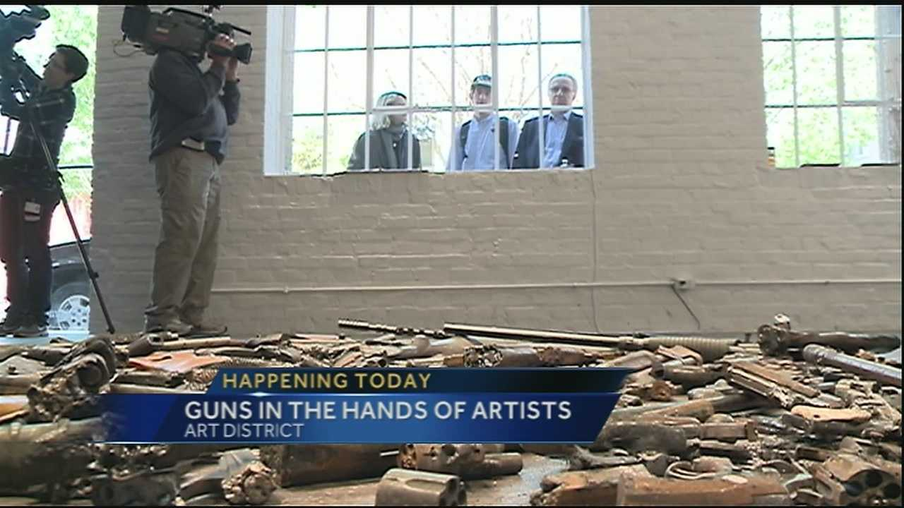 The persistence of urban gun violence has inspired artists from across the country to join forces with the New Orleans Police Department to create some change.