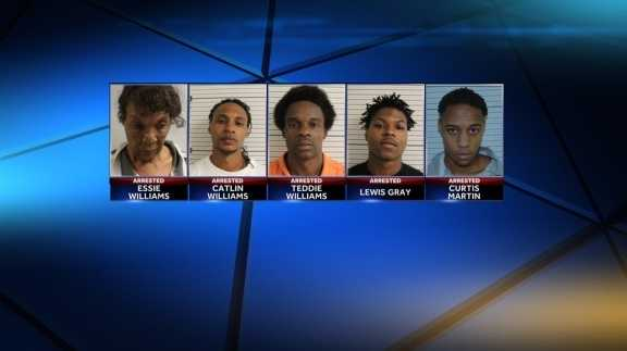 A Washington Parish grandmother, her two sons and one of her grandsons were arrested in connection with a drug bust Tuesday, the Sheriff's Office announced.