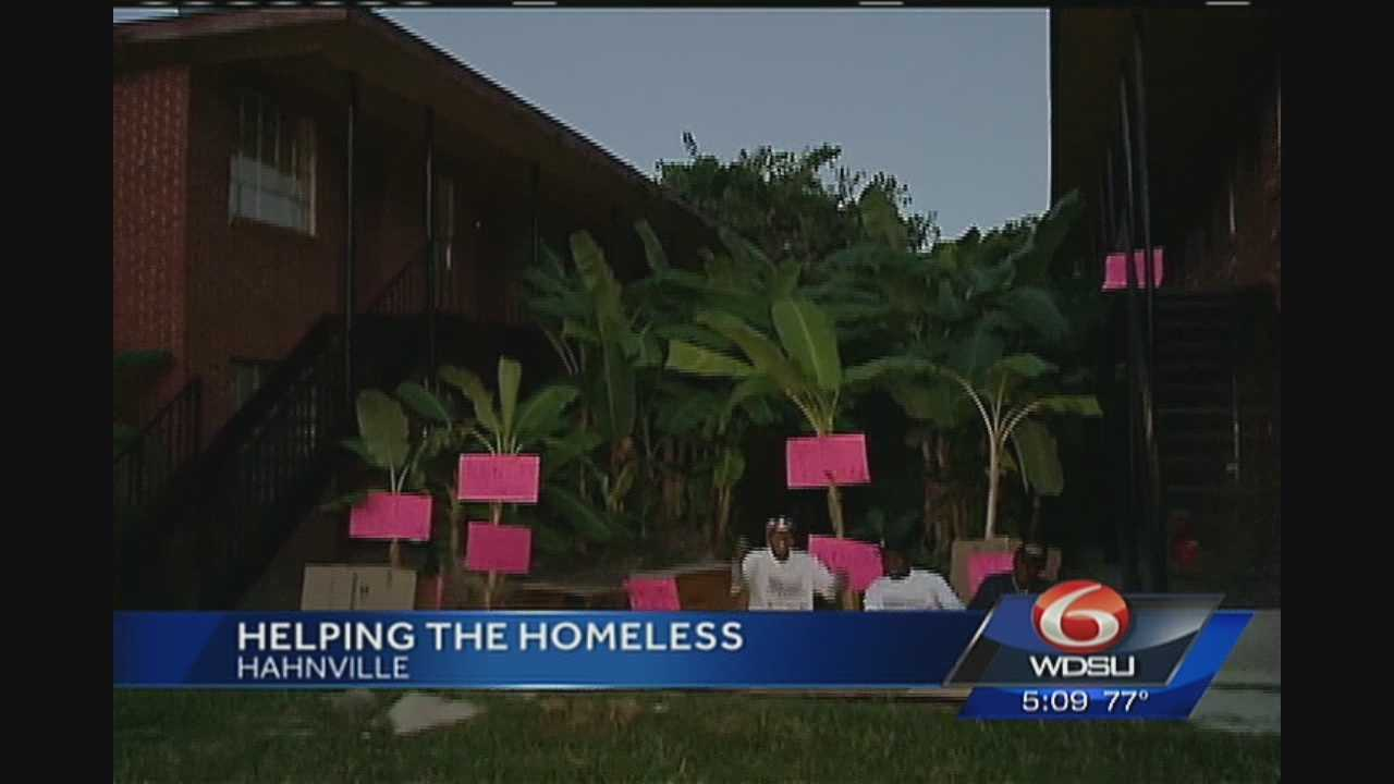 "Organizers and supporters of Veterans Housing Outreach Ministries want to change those possibilities with a ""sleep out"" this weekend outside their offices in Hahnville."