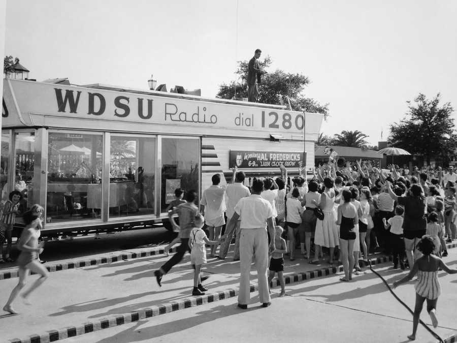 4. Here's an image of WDSU Radio 1280 AM. WDSU-TV was founded by Edgar B. Stern, Jr., who was the owner of the radio station. The radio station was originally located at the DeSoto Hotel (which is where the DS came from in our call letters). The U in our call letters came from  Joseph Uhalt, who founded the radio station as WCBE in 1923.