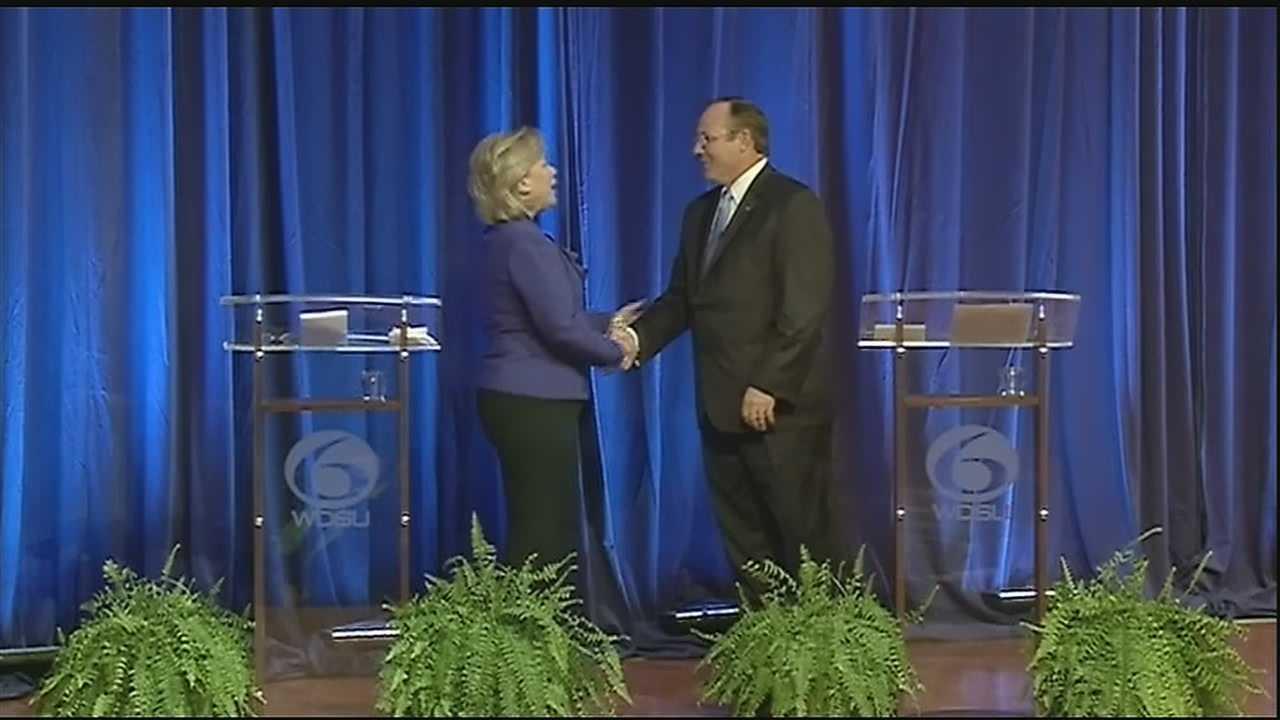 Two U.S. Senate candidates attended a debate Thursday night at Dillard University.