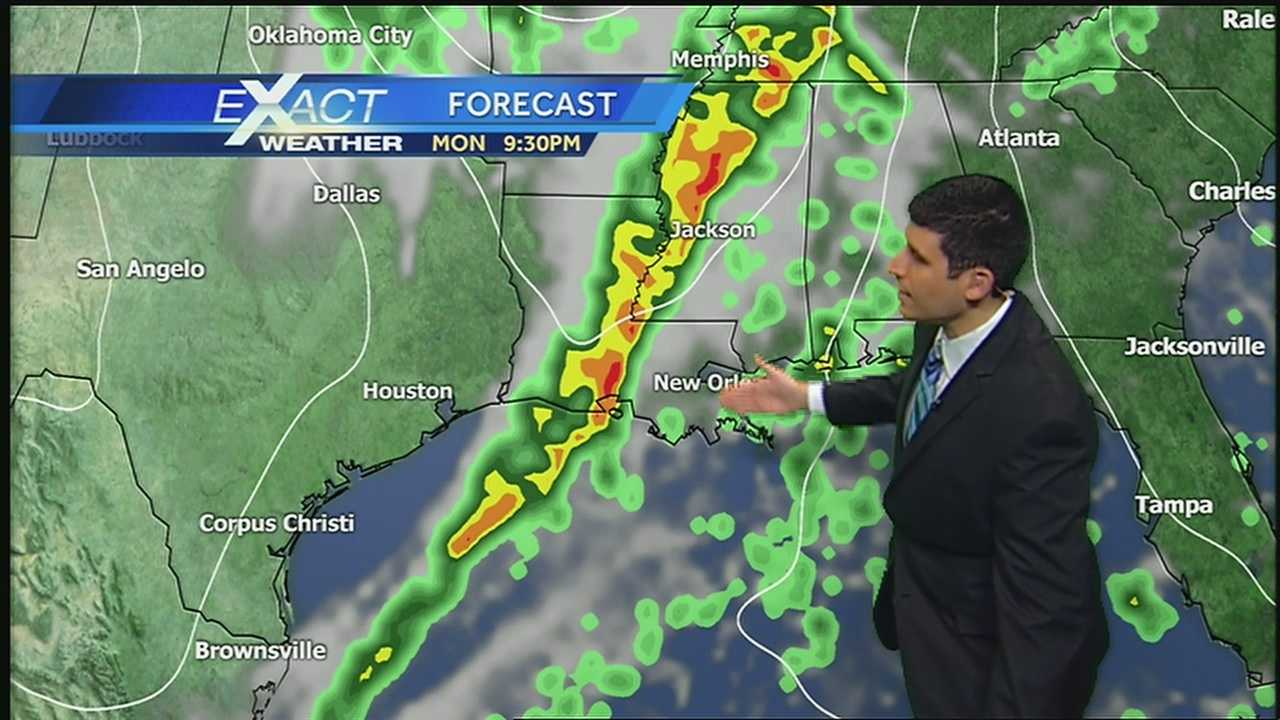 Warm temperatures for today, but another cold front for tomorrow