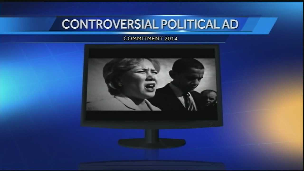 As election day nears one attack ad is making waves on several New Orleans radio stations.