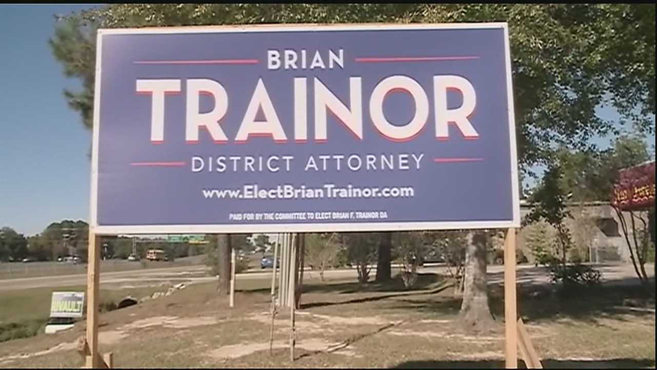 One day after he qualified to run for District Attorney in St. Tammany Parish, Brian Trainor learned a complaint had been filed against him with the office of Disciplinary Counsel.