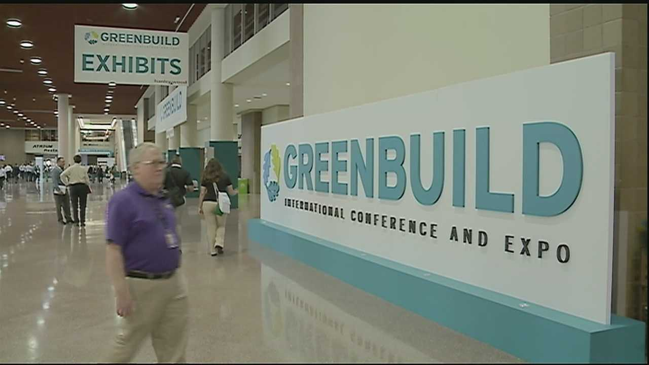 City leaders are spreading the message of conservation during an international conference.