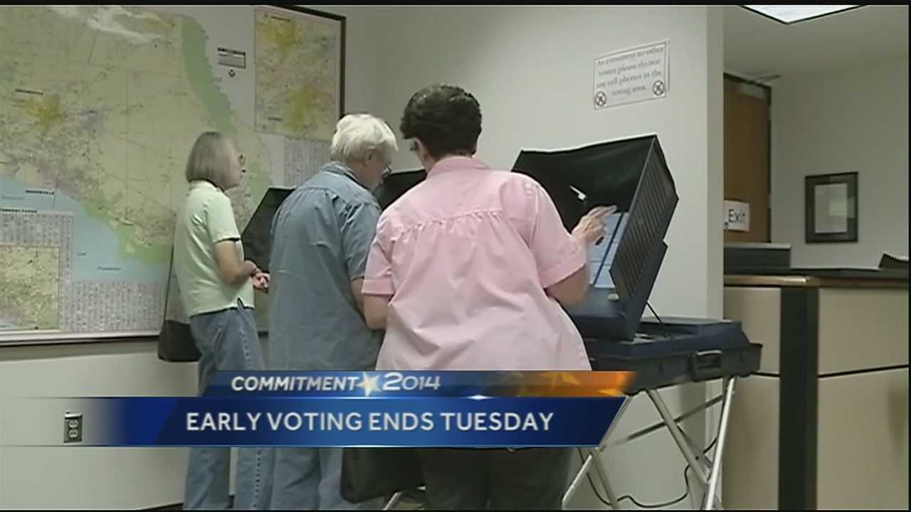 Time is running out for those wanting to cast their ballots ahead of the Nov. 4 election.