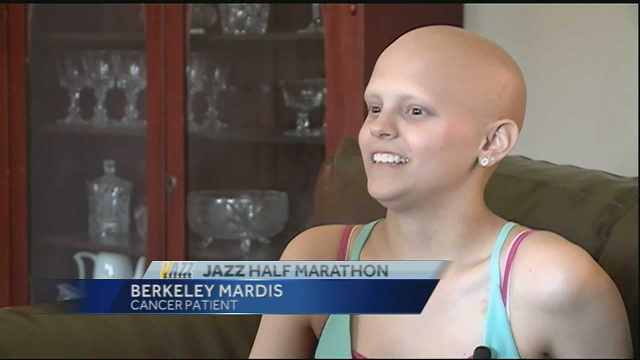 Teen fights her way back to the softball diamond after being diagnosed with cancer.