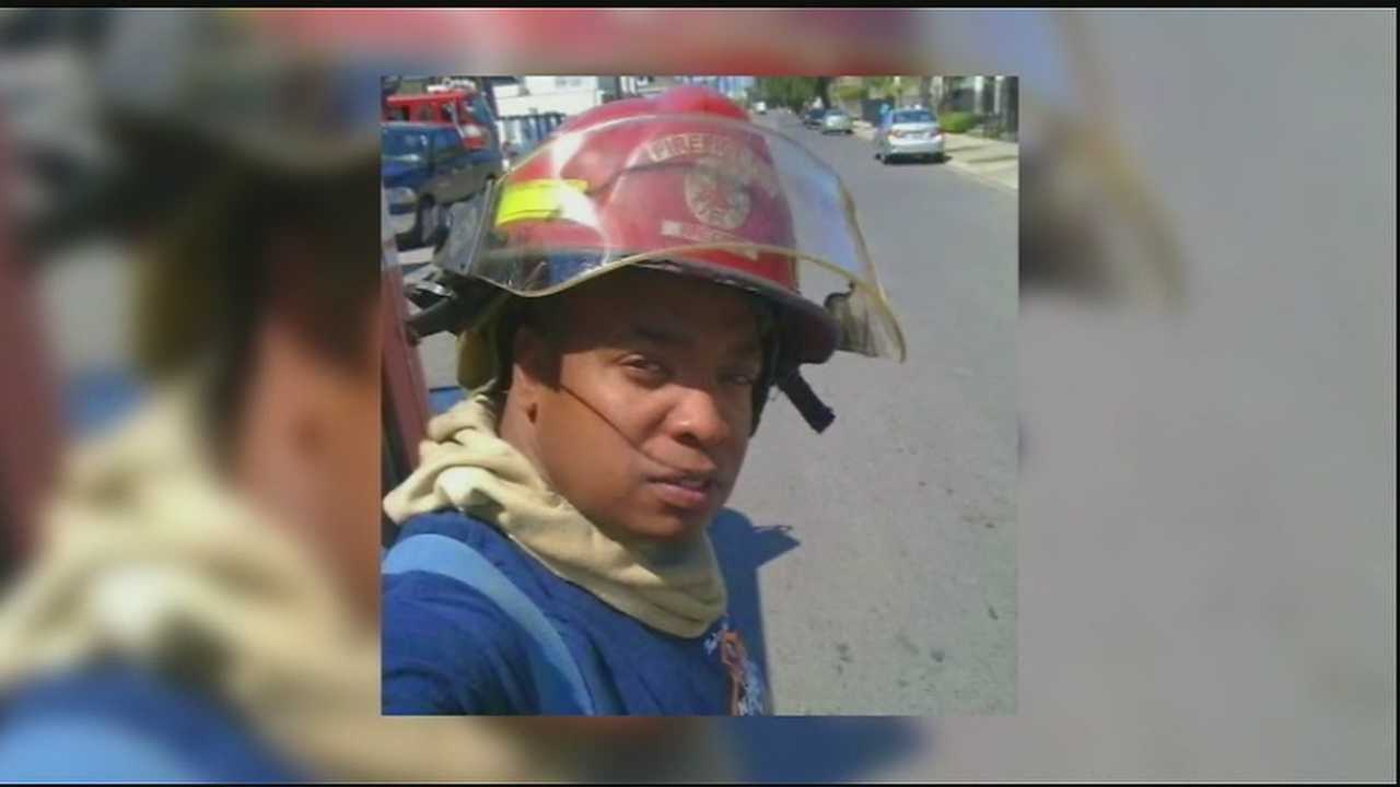 A New Orleans firefighter died in New Mexico in a training exercise.