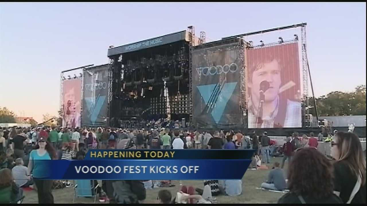 Folks across the Crescent City are gearing up for the 16th annual Voodoo Festival this weekend.