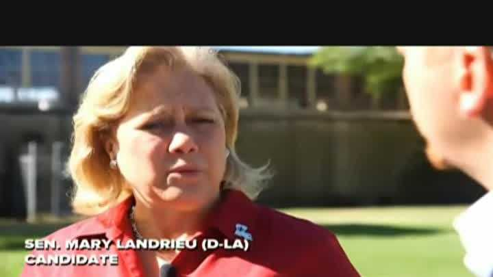 Louisiana Democrat Sen. Mary Landrieu said Thursday that the issue of race is a major reason that President Barack Obama has struggled politically in Southern states.