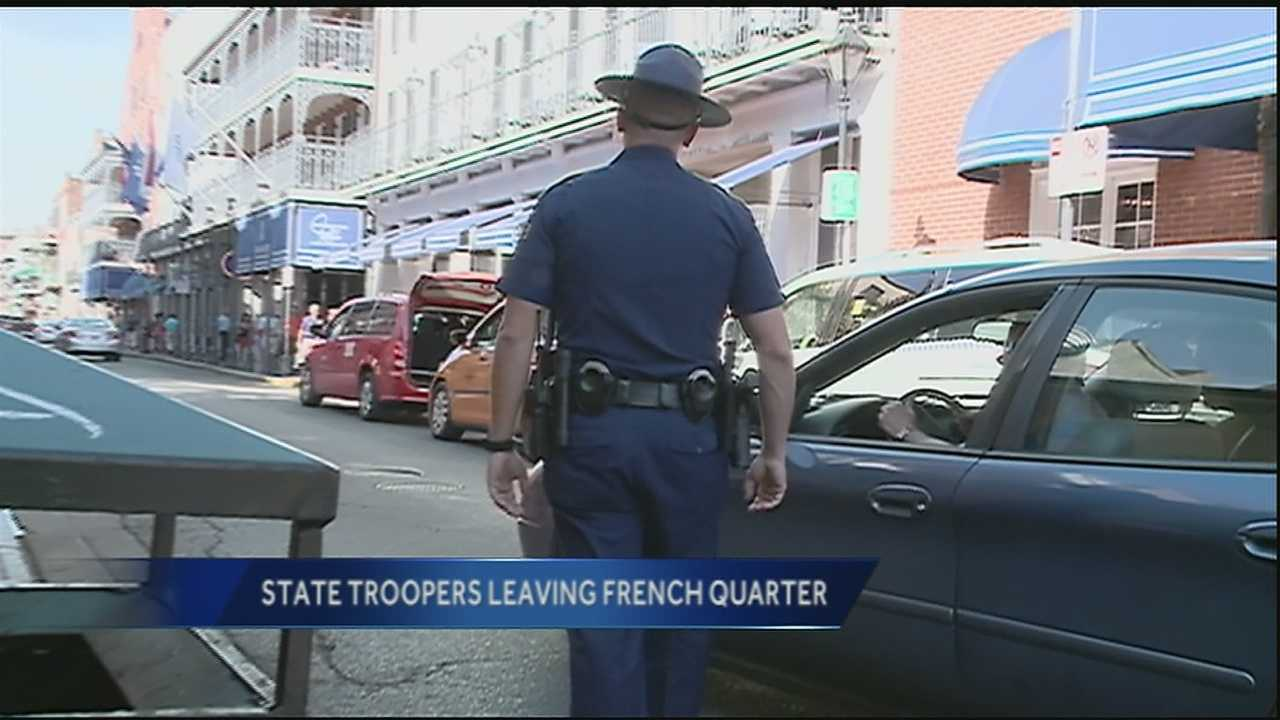LSP assures public there will still be presence in New Orleans area.