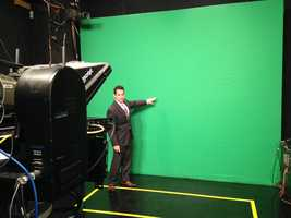 Today, we use green-screen technology to give you the forecast and use a variety of computers, radars and satellite imagery to bring the information to your living room.