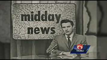 "This is Alec Gifford reporting the news from WDSU's news show ""Midday,"" which aired at noon in the 50s."
