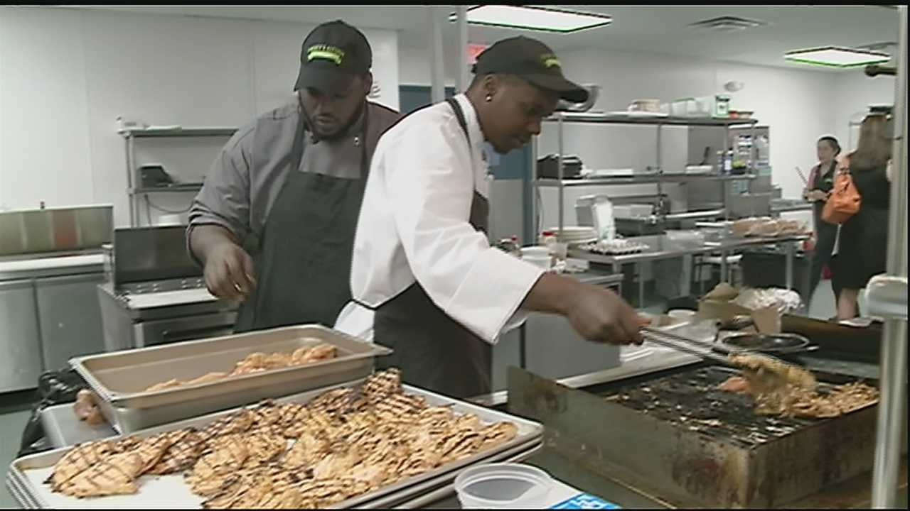A local restaurant is trying to cook up more business, to help kids in our community.