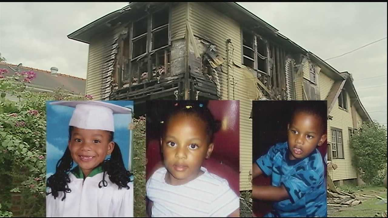 Administrators close school early after learning that children died in fire.