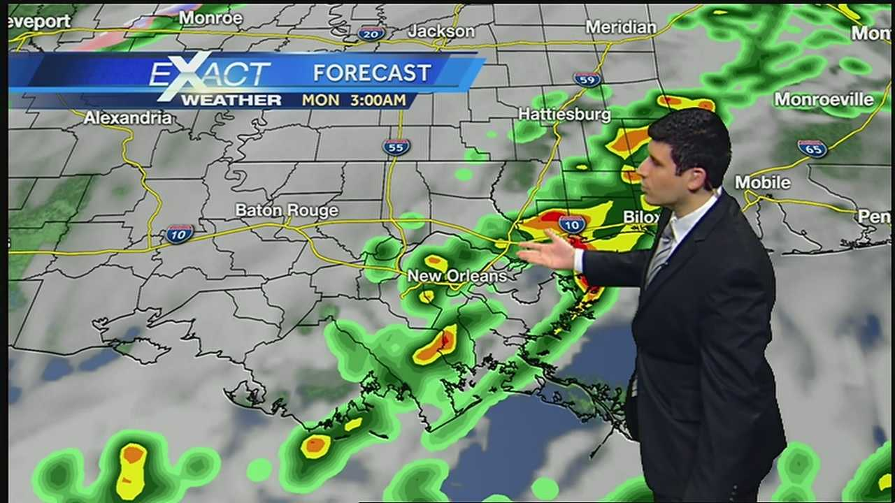 Storms likely by late afternoon into tonight