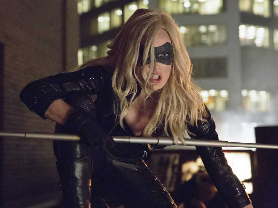 """Lotz plays the Black Canary on the CW show """"Arrow."""" She also starred in the The Pact I and II."""