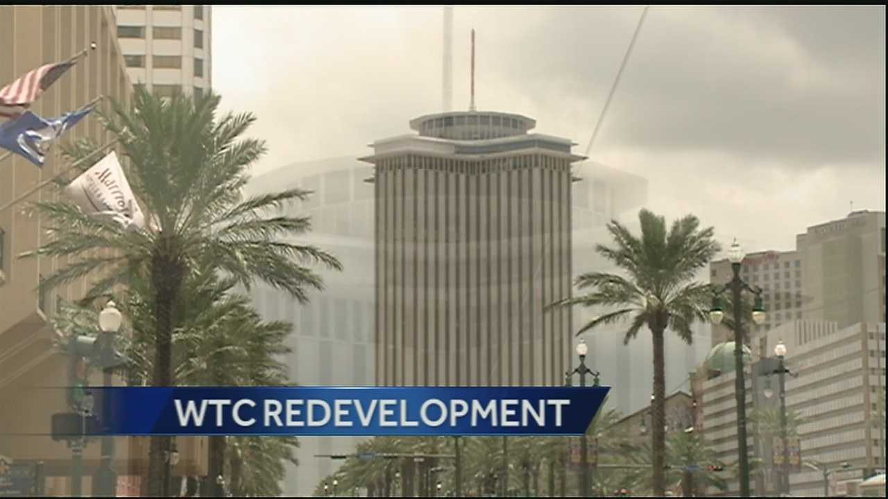 The city of New Orleans unveiled 11 companies seeking the opportunity to partner in the redevelopment of the World Trade Center.