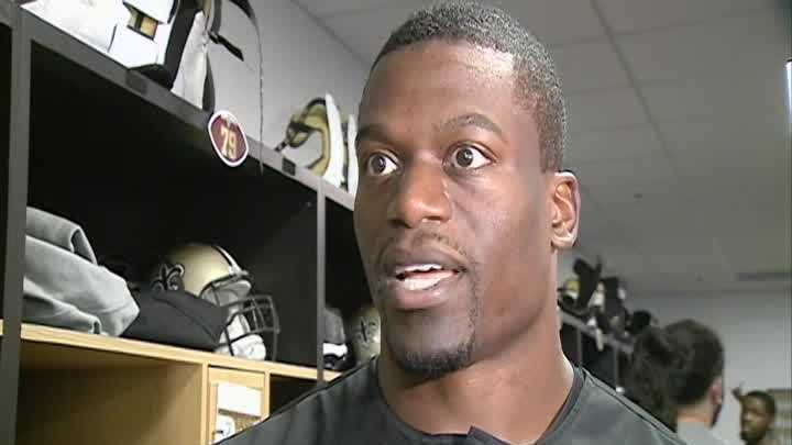 Raw Video: Saints tight end Ben Watson speaks about Ferguson