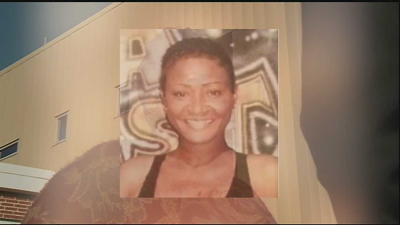 The family of woman who was fatally stabbed and stuffed in a trash can say the victim was still alive when she was placed in the receptacle.