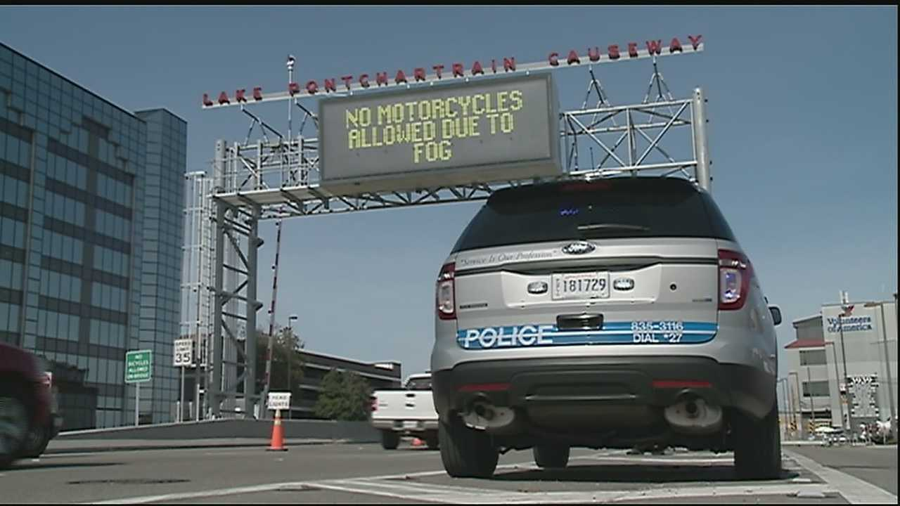 The Causeway Police Department is cracking down on speeders traveling across the bridge.