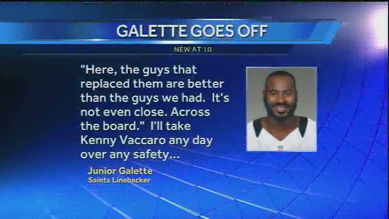 Defense team members, both former and current, take each other on in a Twitter feud that was started when current defense team leader, Junior Galette went public with comments about former Saints defense team members and how they stack up to the current Saints defense.